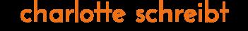 Logo charlotte schreibt
